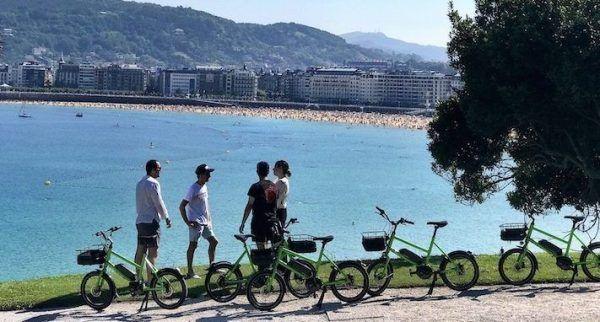 Pintxos bike san sebastian